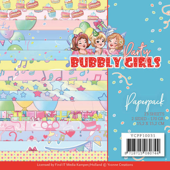 Bubbly Girls Party Paperpack