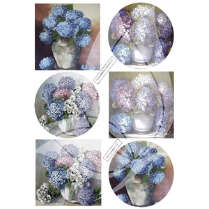 Floral Bouquets 2 Topper Sheet
