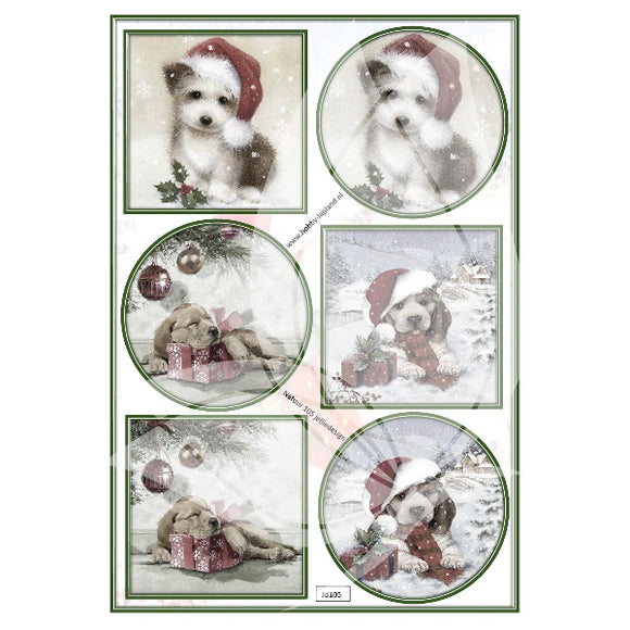 Cute Puppies Topper Sheet
