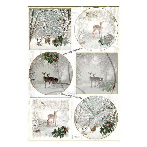 Deer Topper Sheet