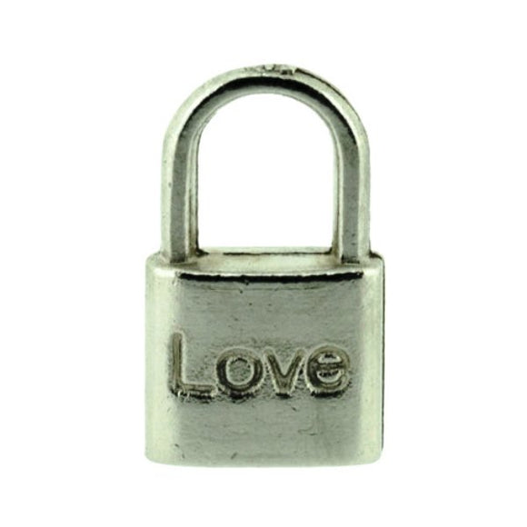 Padlock Love Charm Pack of 10
