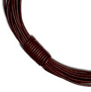 5mm Round Leather Cord.