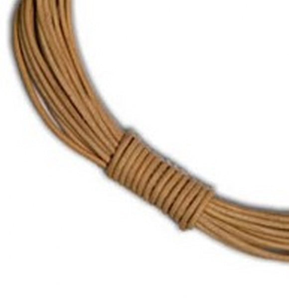 4mm Round Leather Cord.