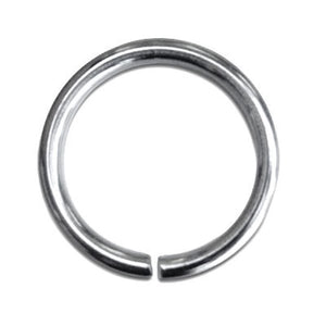 14mm Stainless Steel Jump Rings pack of 50