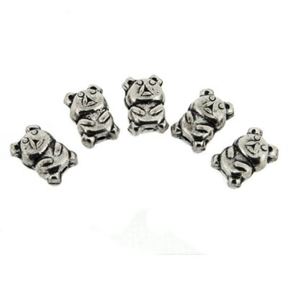 Koala / Teddy Beads 12 mm Pack of 5