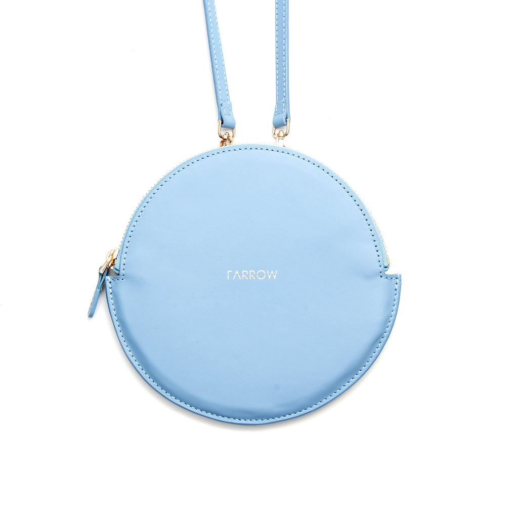 Ivy bag large - light blue