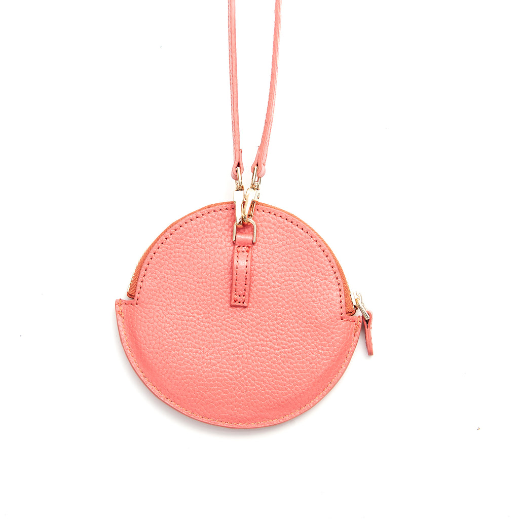 Ivy bag small - coral