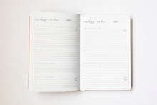Load image into Gallery viewer, I am happy, I am here - Gratitude Journal BEIGE (Bulk Discount Inside)