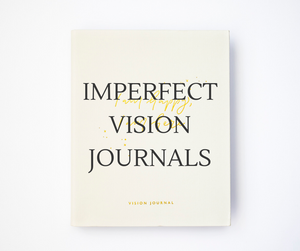 Imperfect Stock - Vision Journal CREAM (Please read description)