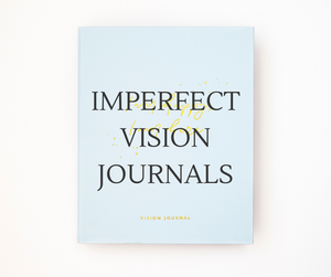 Imperfect Stock - Vision Journal BLUE (Please read description)