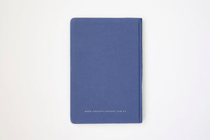 I am happy, I am here - Gratitude Journal PURPLE (Bulk Discount Inside)