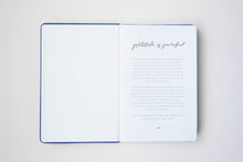 Load image into Gallery viewer, I am happy, I am here - Gratitude Journal PURPLE (Bulk Discount Inside)