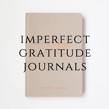 Load image into Gallery viewer, Imperfect Beige Gratitude Journal - Old Version - Please read description