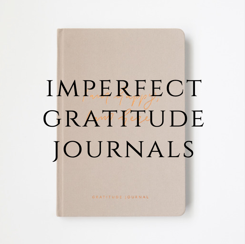 Imperfect Beige Gratitude Journal - Old Version - Please read description