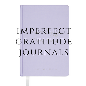 Imperfect purple gratitude journal - please read description