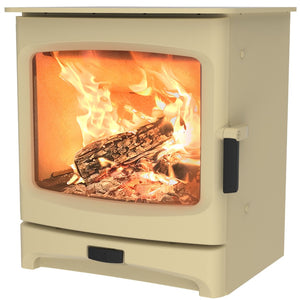 Charnwood Aire 5 Woodburning Stove Low Almond Colour
