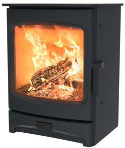 Charnwood Aire 5 Woodburning Stove Low Blue Colour