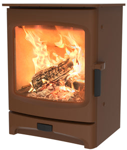 Charnwood Aire 5 Woodburning Stove Low Bronze Colour