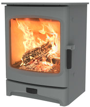 Load image into Gallery viewer, Charnwood Aire 5 Woodburning Stove Low Pewter Colour