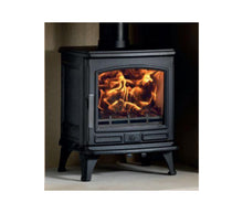 Load image into Gallery viewer, ACR Oakdale Extra large Black Traditional Cast Iron Wood Burning Fire Stove