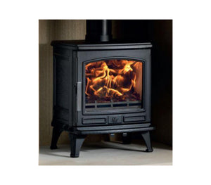 ACR Oakdale Extra large Black Traditional Cast Iron Wood Burning Fire Stove
