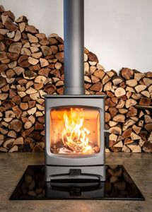Charnwood Aire 5 Woodburning Stove Low Fire
