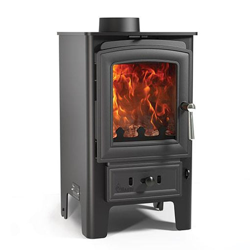 Arada Puffin Multi Fuel Stove Freestanding Wood Burning