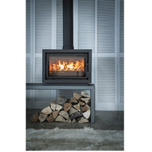 Load image into Gallery viewer, Bay BX Eco Design Wood Burning Fire Free standing Log storage  Edit alt text
