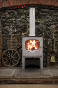 Charnwood Bembridge Eco Design Stove in Cabin Lodge