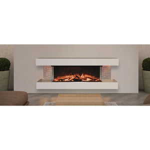Evonic Bergen Traditional App Controlled Electric Fire
