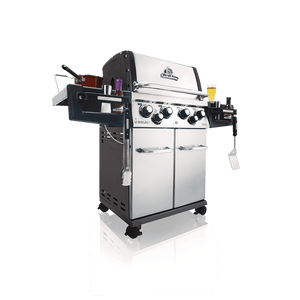 Broil King The Regal™ S490 Pro Infared Gas BBQ Side View Utensils