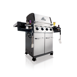 Broil King Regal 420 Pro Gas BBQ Side Left