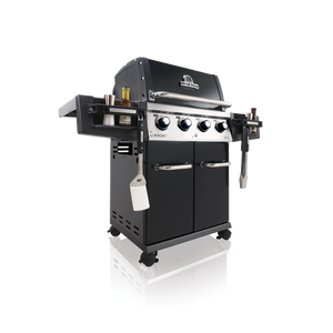 Broil King Regal 420 Pro Gas BBQ Side View Left