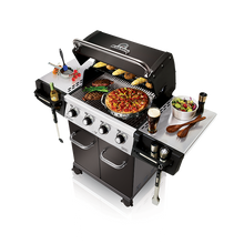 Load image into Gallery viewer, Broil King Regal 420 Pro Gas BBQ Top View Cooling Food