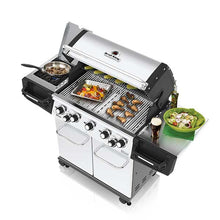 Load image into Gallery viewer, Broil King The Regal™ S590 Gas BBQ Top Angle Lid Open