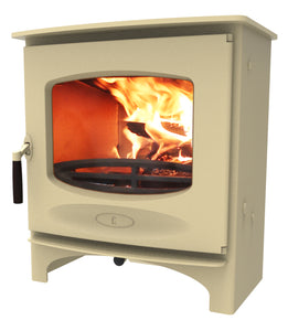 Charnwood C Seven Freestanding Wood Burning Stove Almond