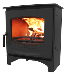 Charnwood C Seven Freestanding Wood Burning Stove Black