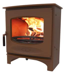 Charnwood C Seven Freestanding Wood Burning Stove Bronze