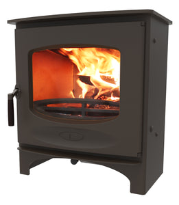 Charnwood C Seven Freestanding Wood Burning Stove Brown
