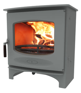 Charnwood C Seven Freestanding Wood Burning Stove Pewter