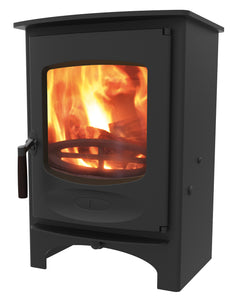 Charnwood C Six Freestanding Wood Burning Stove Black