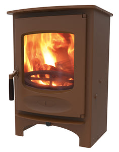Charnwood C Six Freestanding Wood Burning Stove Bronze