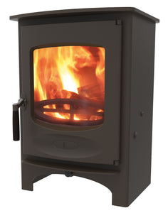 Charnwood C Six Freestanding Wood Burning Stove Brown
