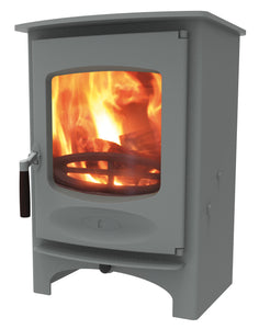 Charnwood C Six Freestanding Wood Burning StovePewter