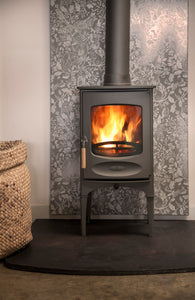 Charnwood C Four Freestanding Wood Burning Stove Living Area Small