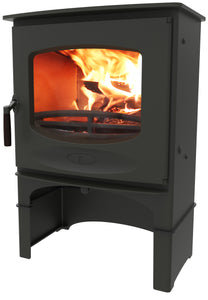 Charnwood C Seven Freestanding Wood Burning Stove Log Storage