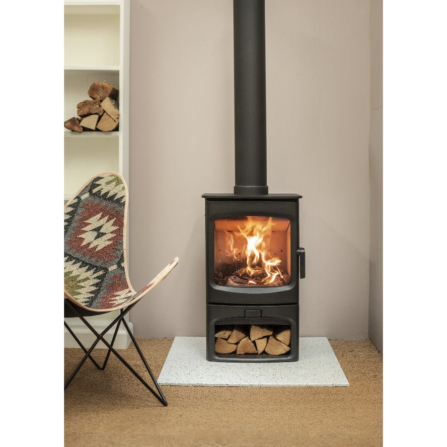 Charnwood Aire 5 Woodburning Stove Log Storage