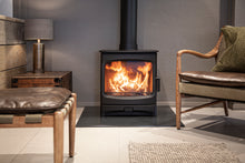 Load image into Gallery viewer, Charnwood Aire 7 Woodburning Stove Low Living Room Contemporary