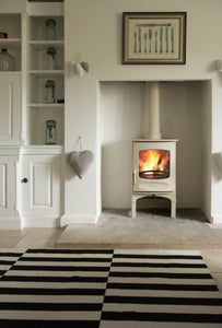 Charnwood C Four Freestanding Wood Burning Stove in Small Fireplace Kitchen Heater