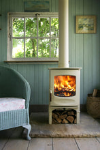 Load image into Gallery viewer, Charnwood C Four Freestanding Wood Burning Stove In Garden Shed Out House Pool House Conservatory